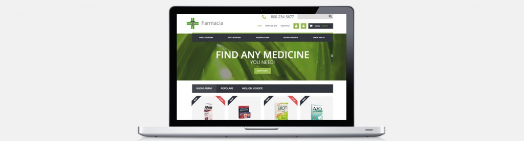 Web Solution per farmacie